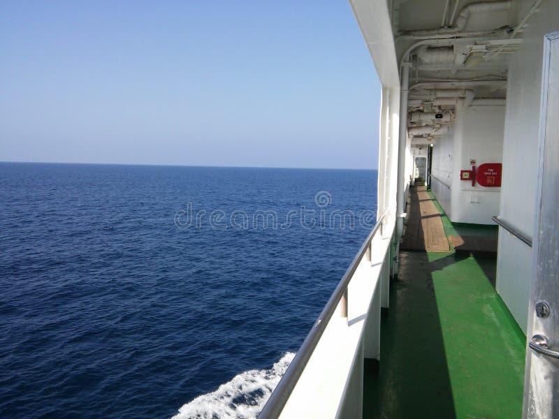 Japanisches Meer stockfotografie