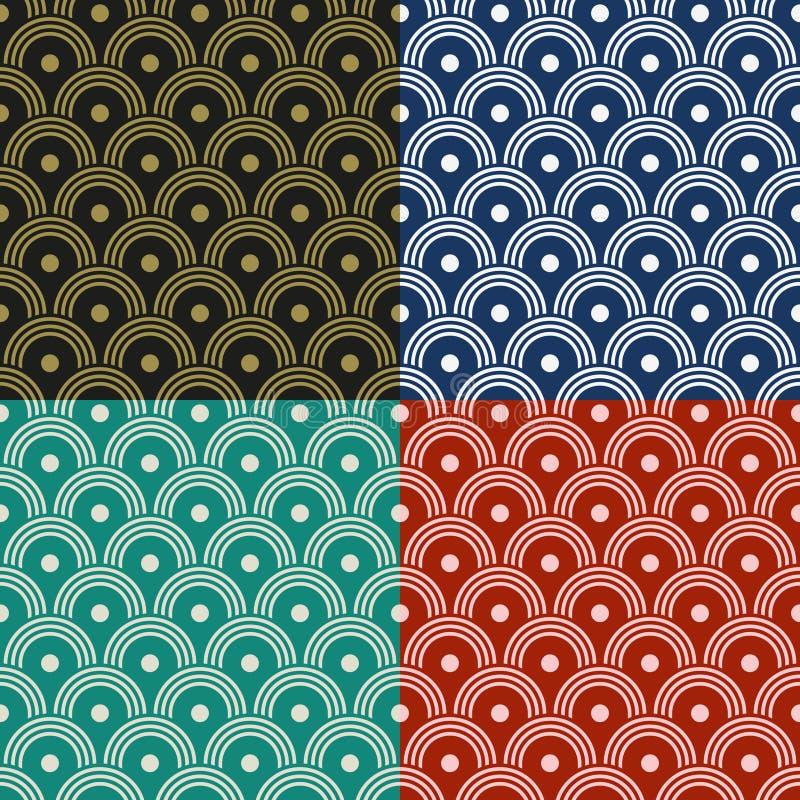 Japanisches Muster stock abbildung
