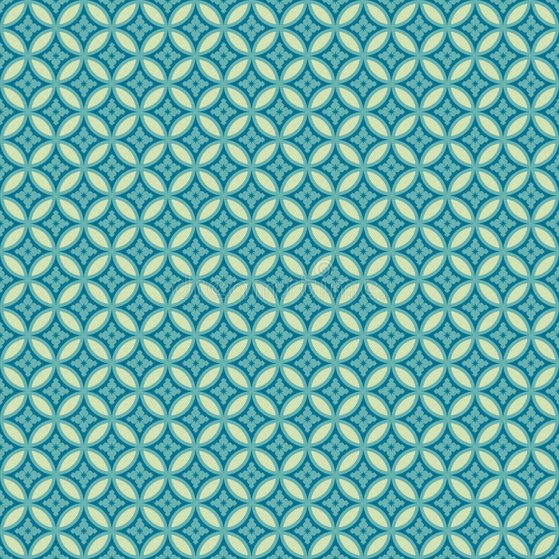 Japanisches nahtloses Muster lizenzfreie abbildung