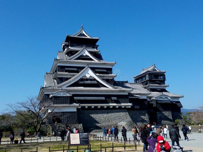 Japanisches Schloss Shiro lizenzfreies stockfoto