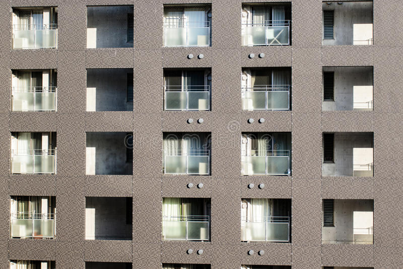 Japanisches Wohngebäude in Kyoto - Honshu - Japan stockbilder