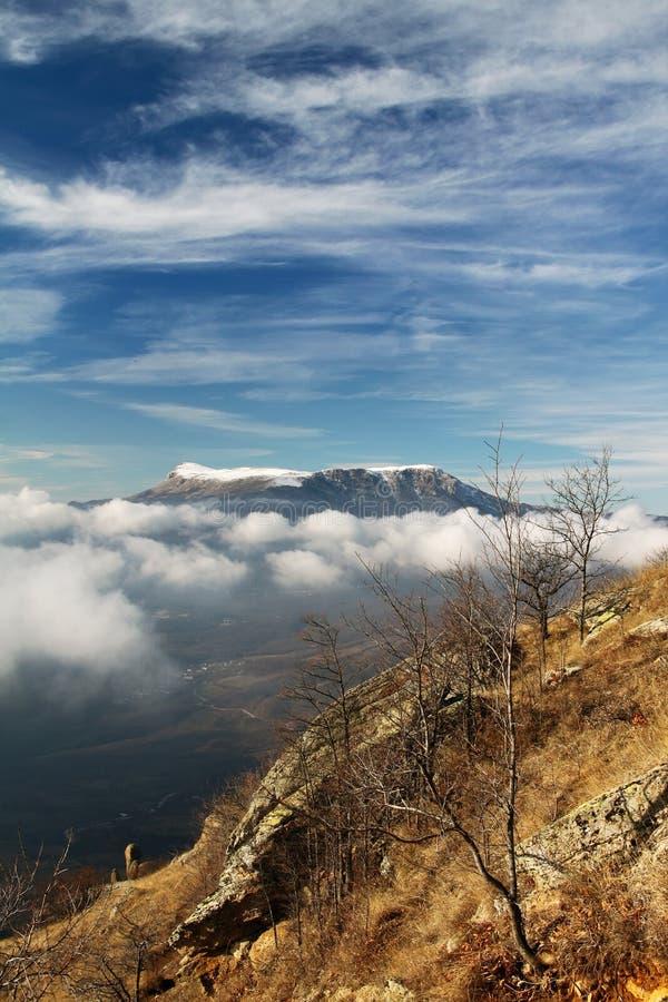 Japanise Mountains Royalty Free Stock Photo