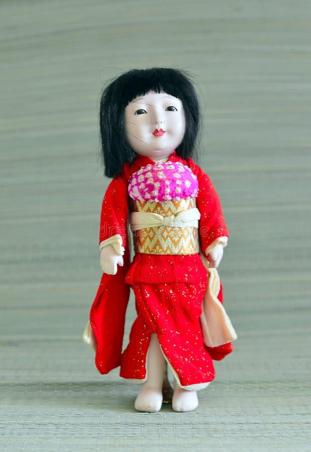 Japanner, Geisha pop stock afbeelding