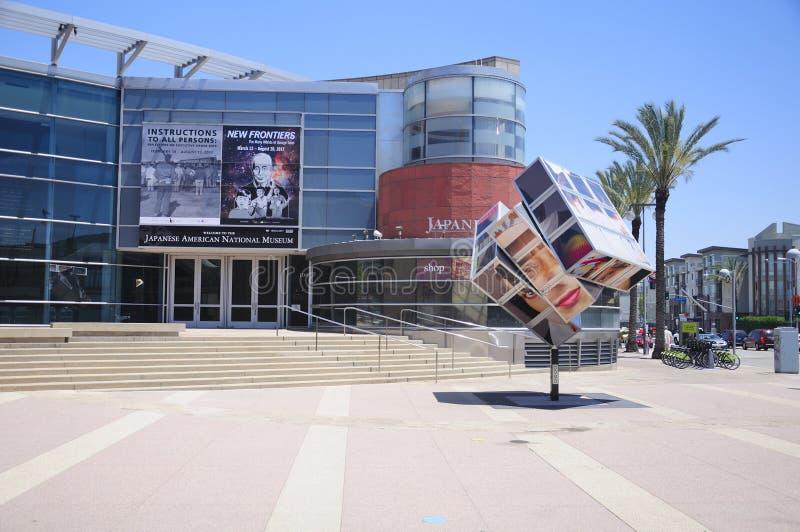Japans Amerikaans nationaal museum Los Angeles stock foto's