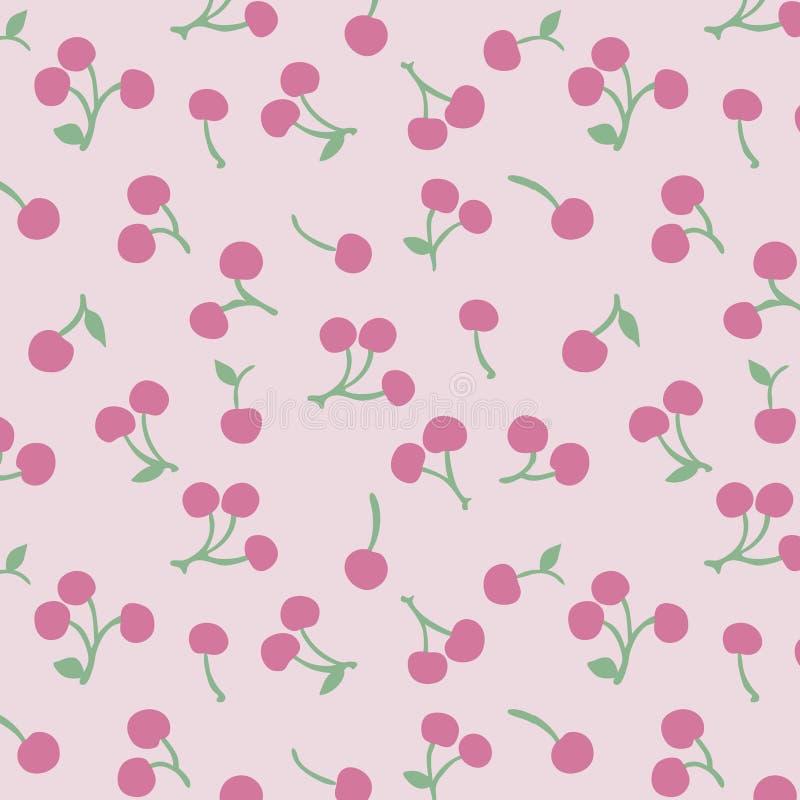 Japans Cherry Pattern stock illustratie