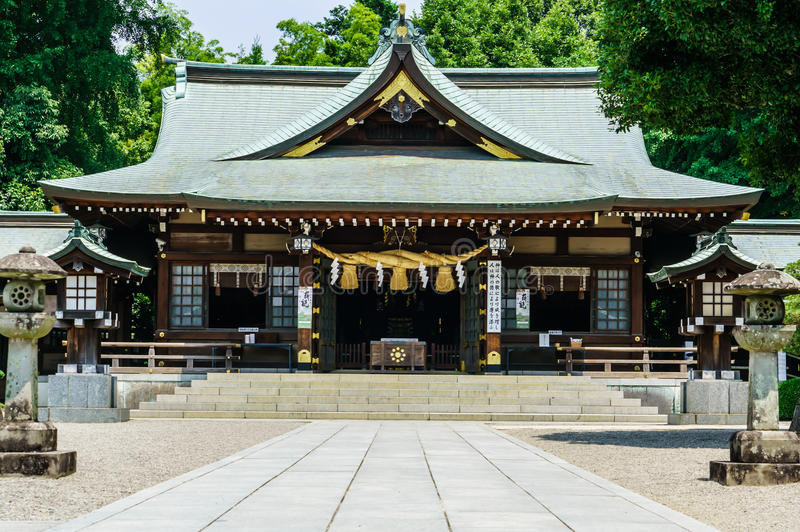 Japans heiligdom stock afbeelding