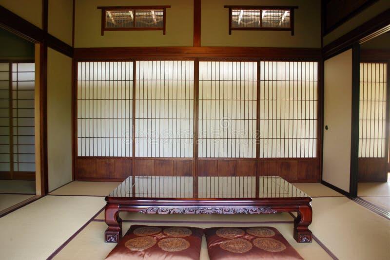 Japans huis stock afbeelding