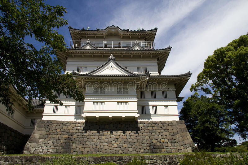 Japans kasteel royalty-vrije stock fotografie