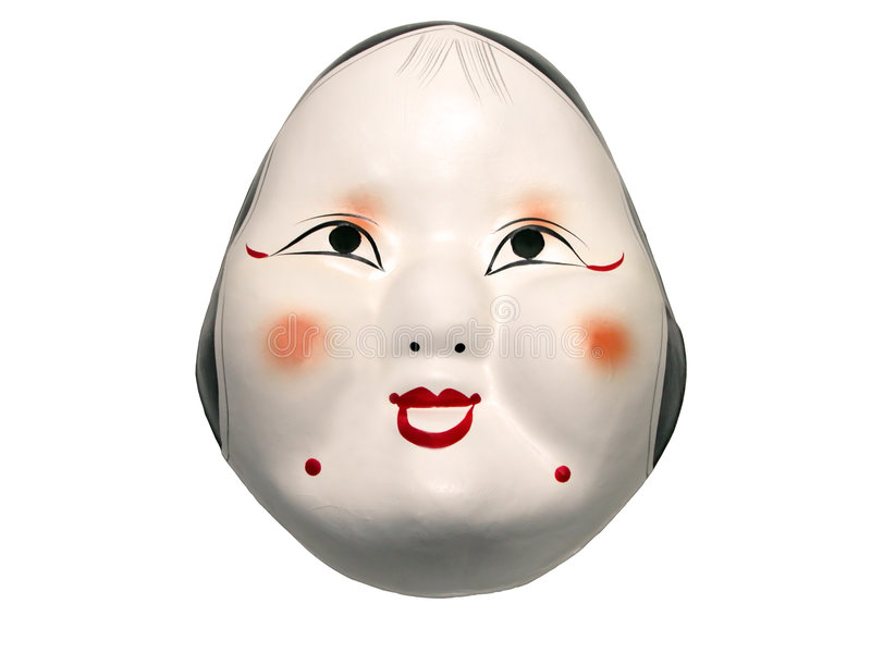 Japans masker stock foto