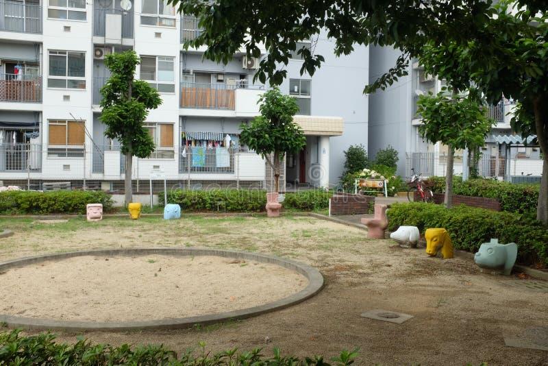 Japans park royalty-vrije stock afbeelding