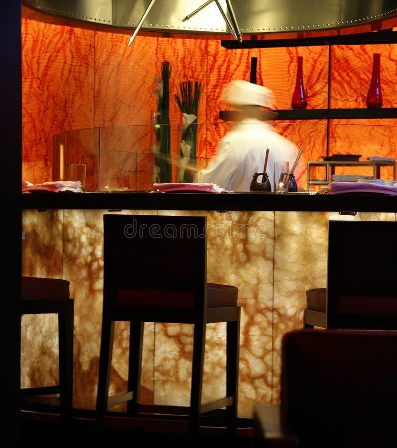 Japans restaurant royalty-vrije stock fotografie