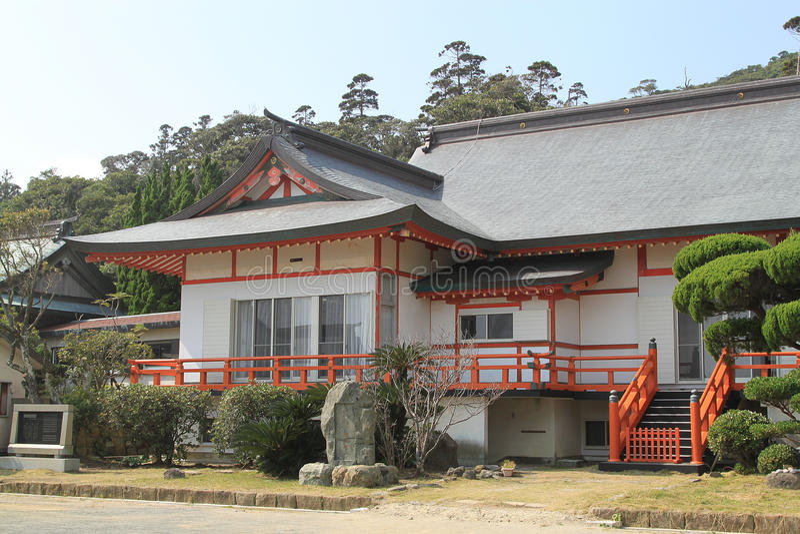 Japans stijlhuis royalty-vrije stock foto's