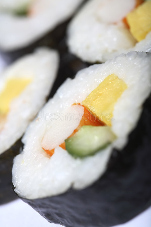 Japans sushibroodje royalty-vrije stock foto's
