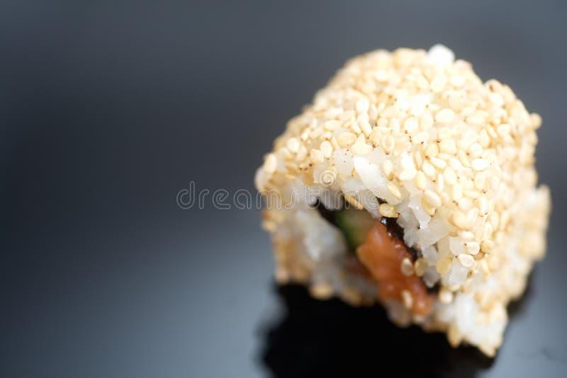 Japans sushibroodje Alaska stock foto