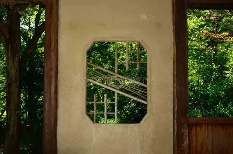 Japans theehuis, Kyoto Japan royalty-vrije stock foto