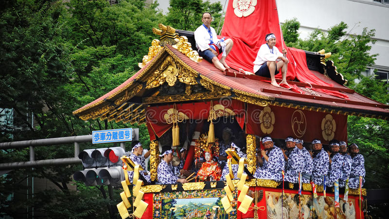 Japans Traditioneel Festival stock foto