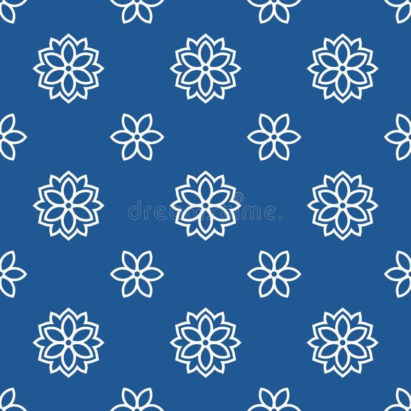 Japans traditioneel klassiek patroon stock illustratie
