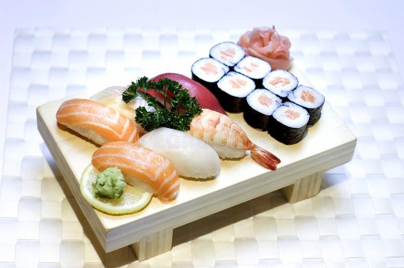 Japans Voedsel, Gemengd Menu   royalty-vrije stock afbeelding