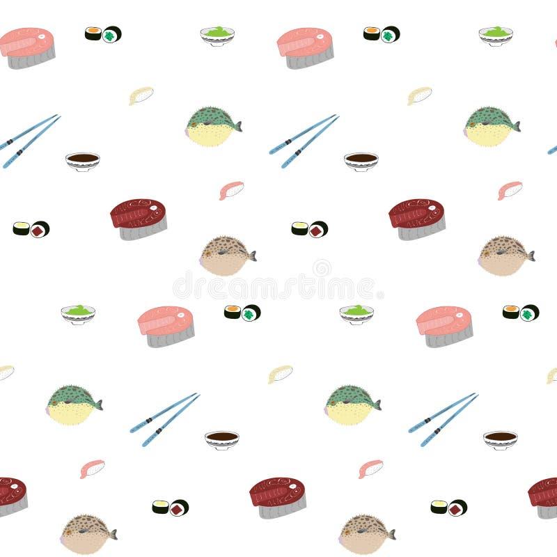 Japans voedselpatroon royalty-vrije stock fotografie
