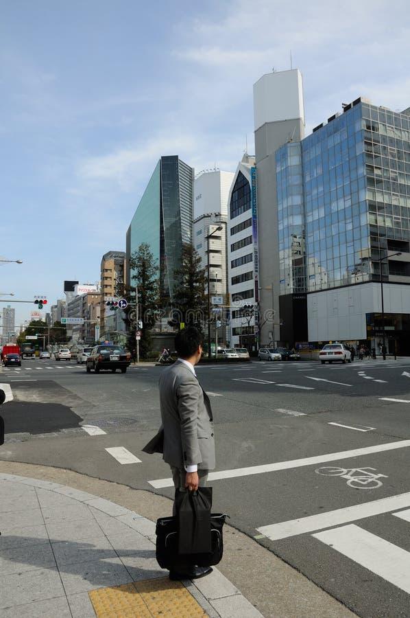Japanse Bedrijfsmens royalty-vrije stock afbeeldingen