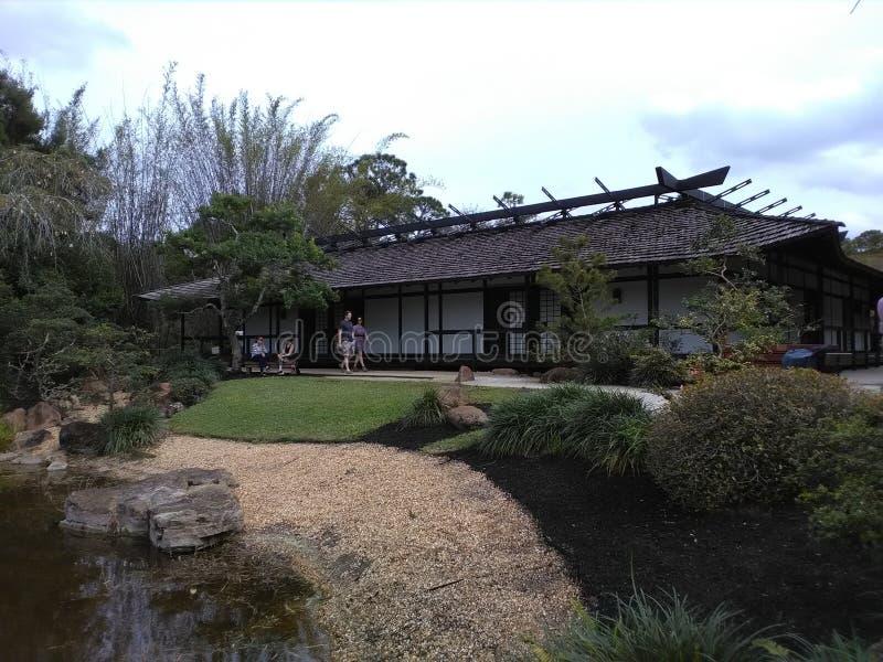 Japanse Botanische Tuin royalty-vrije stock afbeelding