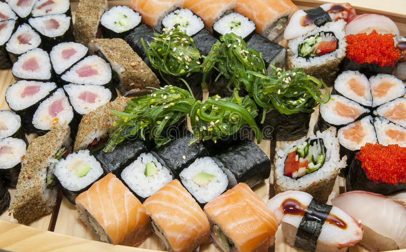 Japanse broodjes royalty-vrije stock foto's