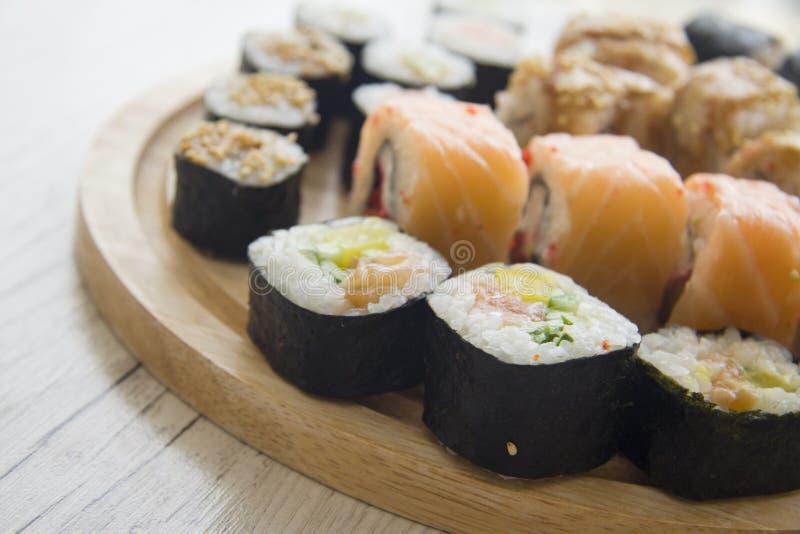 Japanse broodjes royalty-vrije stock afbeelding
