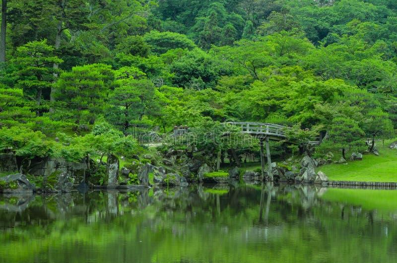 Japanse brug stock foto's