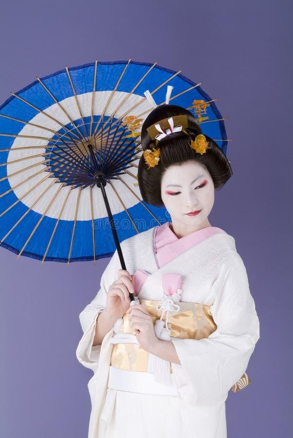 Japanse bruid stock afbeelding