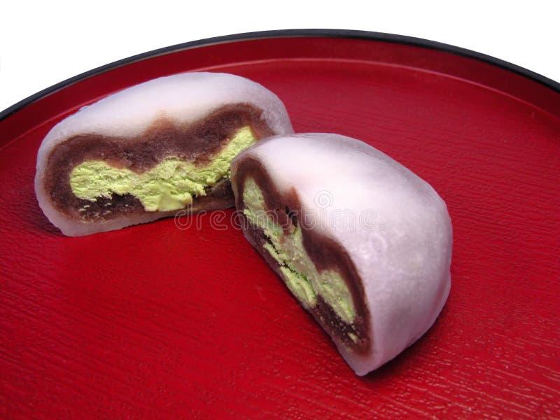 Japanse cake royalty-vrije stock afbeeldingen