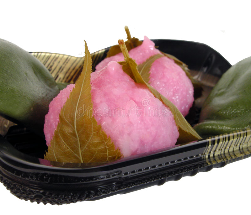 Japanse cakes stock fotografie