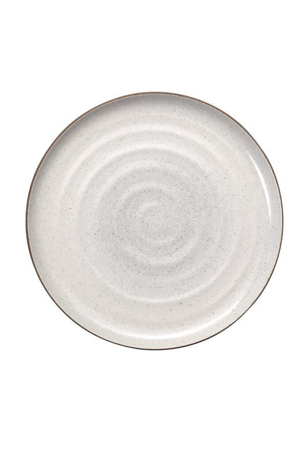 Japanse ceramische schotel royalty-vrije stock foto's