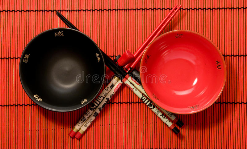 Japanse cookware stock fotografie