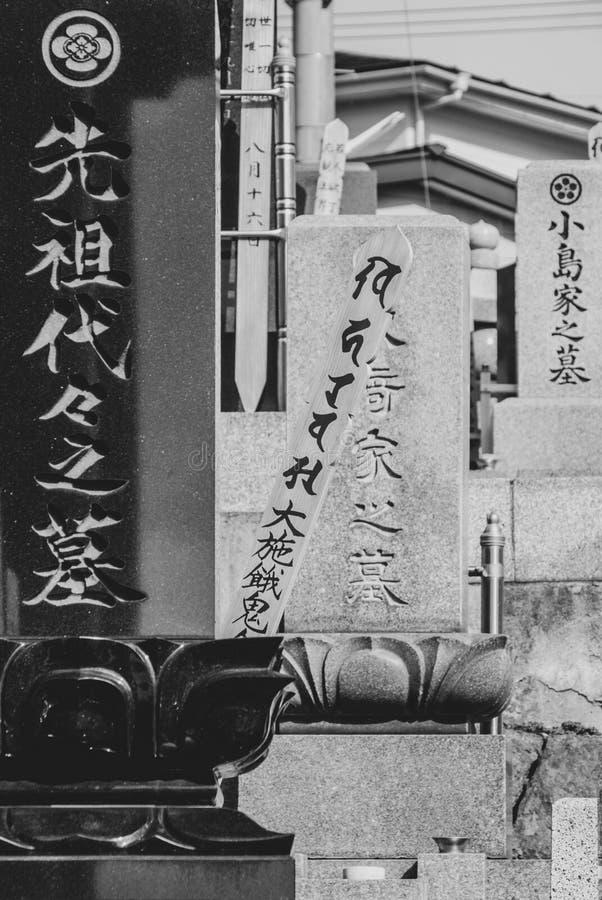 Japanse graven - porttrait richtlijn stock afbeeldingen