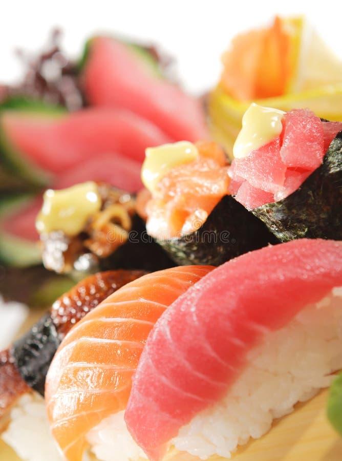 Download Japanse Keuken - De Reeks Van Sushi Stock Afbeelding - Afbeelding bestaande uit dieet, lunch: 10778311