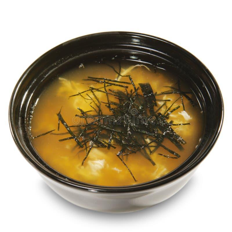 Japanse Keuken - Miso Soep royalty-vrije stock foto's