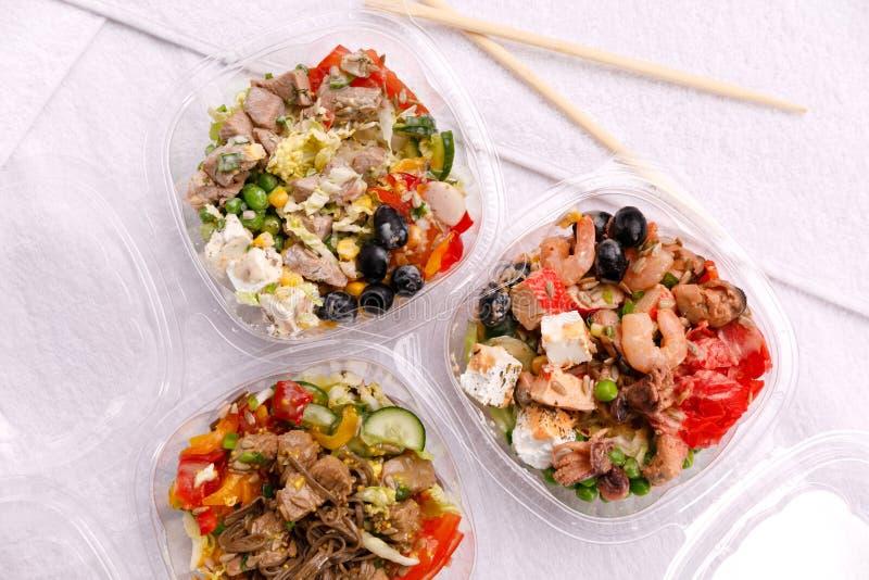 Japanse keuken, voedsel op een witte achtergrond stock afbeelding