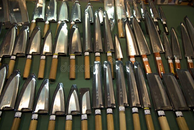 Japanse knifes royalty-vrije stock afbeelding