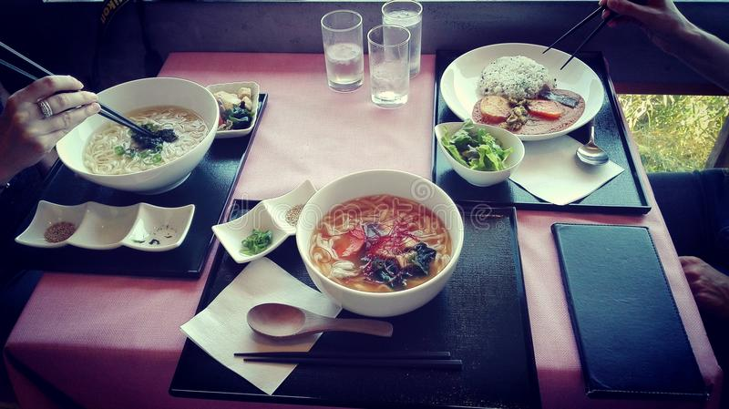 Japanse maaltijd royalty-vrije stock foto's
