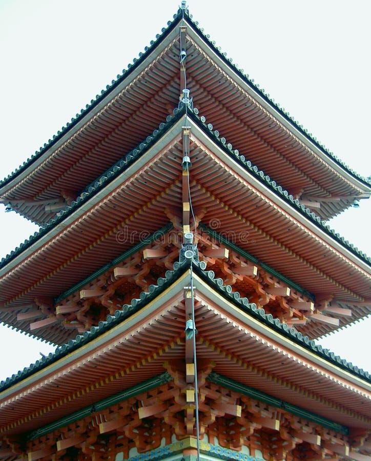 Japanse Pagode Royalty-vrije Stock Afbeeldingen