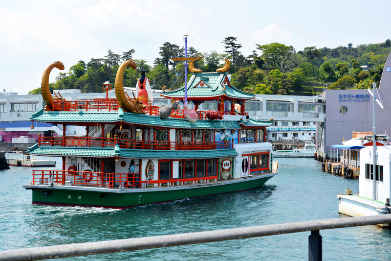 Japanse Reisboot royalty-vrije stock foto