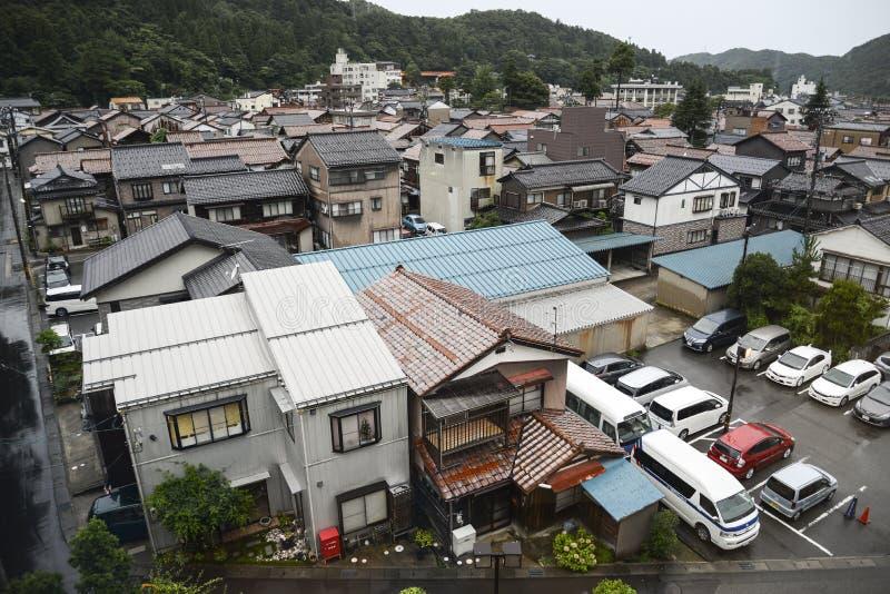 Japanse Suburbia royalty-vrije stock fotografie