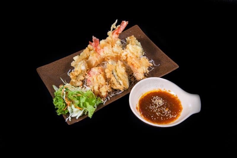 Japanse tempura stock afbeelding