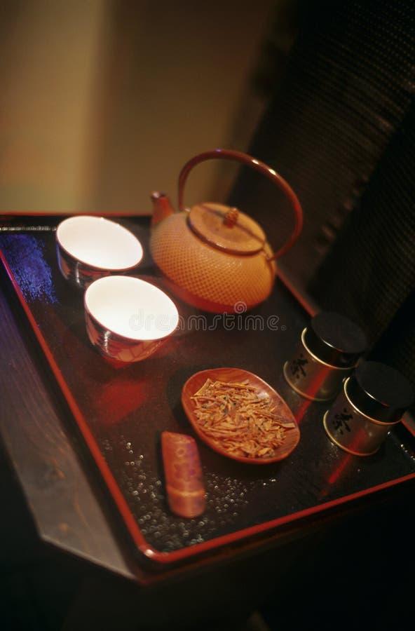 Japanse theepot stock afbeeldingen