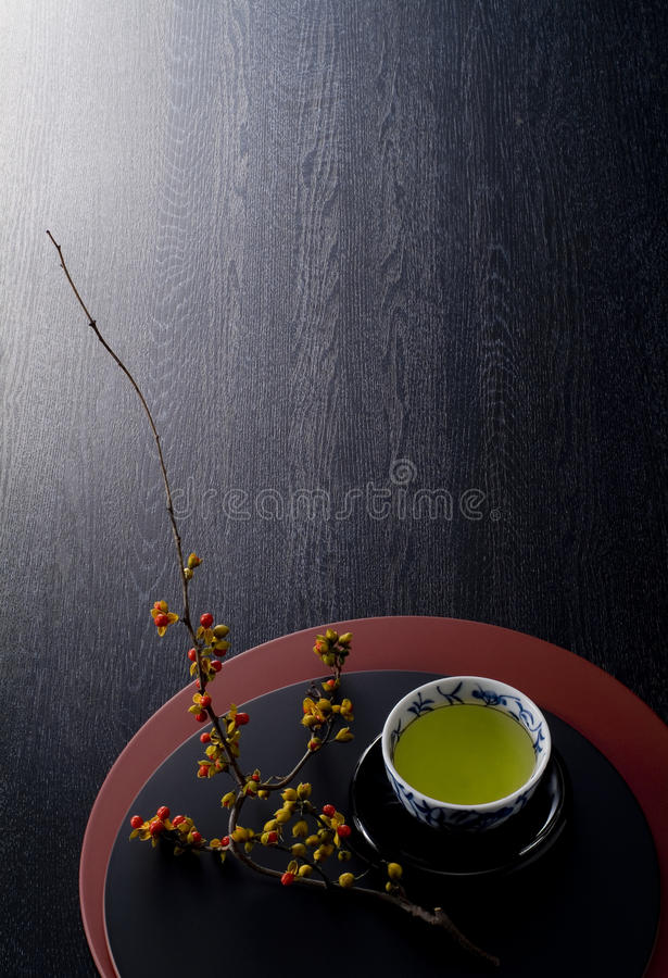 Japanse theetijd stock fotografie