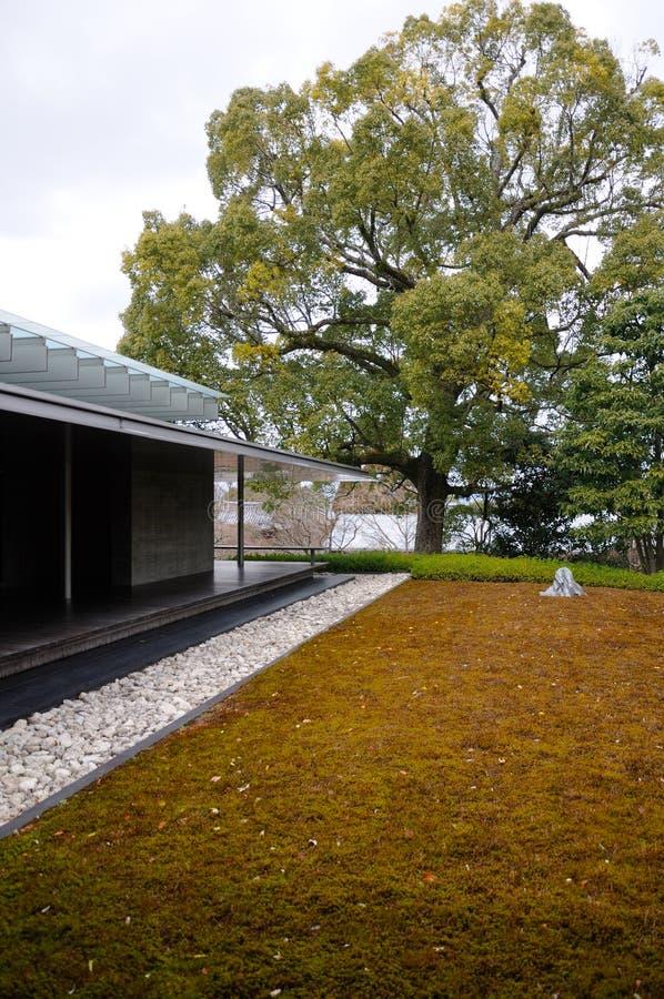 Japanse Tuin en de bouw stock foto