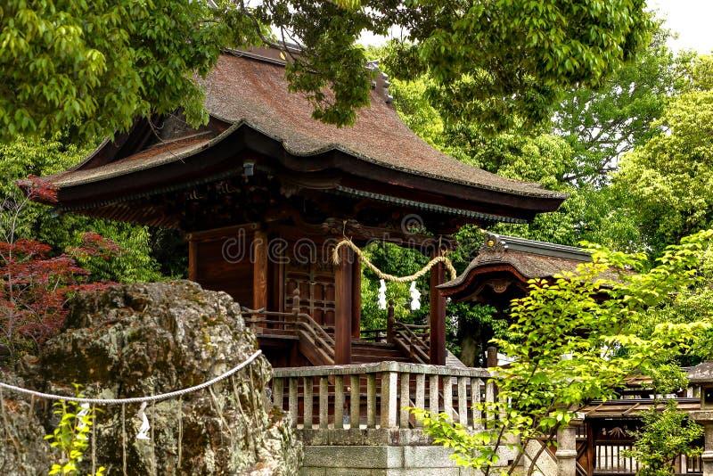 Japanse tuin - nihon teien stock foto