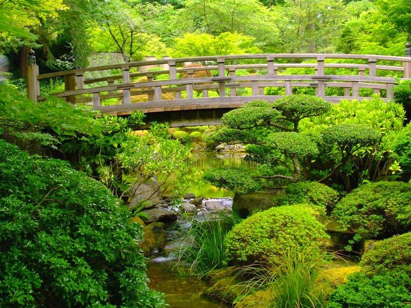 Japanse Tuinen in Portland royalty-vrije stock fotografie