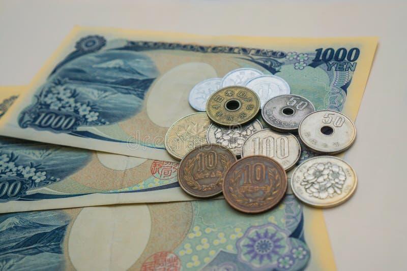 Japanse Yen royalty-vrije stock afbeelding