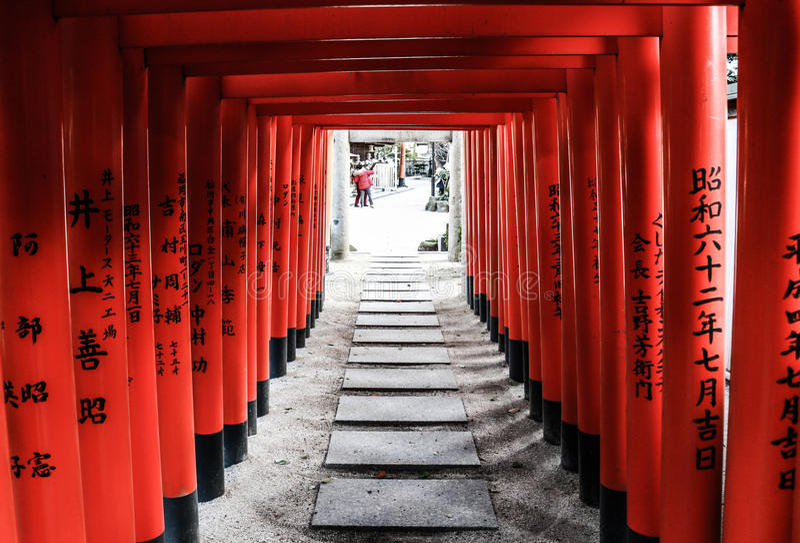 Japanses寺庙 库存图片